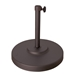 durable steel umbrella base