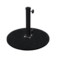 California Umbrella Cast Iron Flat Umbrella Base - 95 lbs - CRLY903