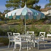 California Umbrella Pagoda Series 8.5ft Umbrella - SMPT852PD