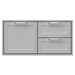"42"" Double Drawer and Storage Door - AGSDR42"