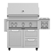"Outdoor 36"" Grill with Cart and Double Side Burner - G_BR36-GCR36_AGB122"