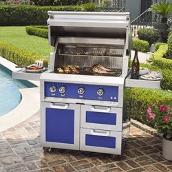 "Outdoor 36"" Grill with Cart"