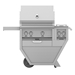 "Deluxe 30"" Grill with Work Top and Double Side Burner - G_BR30CX2"