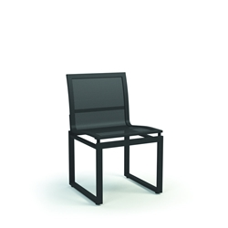 Homecrest Allure Armless Cafe Mesh Dining Chair - 1135M