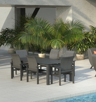 Homecrest Elements Modern Patio Dining Set - HC-ELEMENTS-SET2