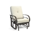 Emory Cushion High Back Glider Chair and Table Set - HC-EMORY-SET4