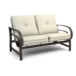 Homecrest Emory Cushion Low Back Loveseat  - 2M42A
