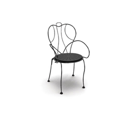 Homecrest Espresso Stackable Cafe Chair - 90390