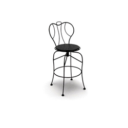 Homecrest Espresso Swivel Bar Stool - 91250