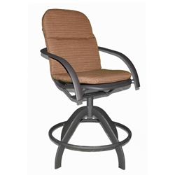 Warehouse Sale Homecrest Florida Mesh Swivel Counter Stool - 2F580 In Stock