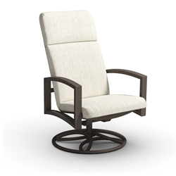 Homecrest Havenhill Cushion High Back Swivel Rocker - 4A92F