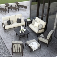 Homecrest Havenhill Cushion 7 Piece Patio Set - HC-HAVENHILL-SET5