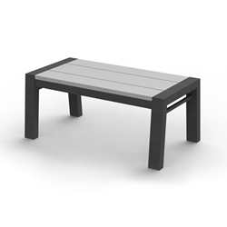 "Homecrest Maddox 22"" x 40"" Rectangular Cafe Bench - 282240"