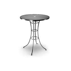 Homecrest 36 Inch Round Bar Table with Steel Base  - 06365