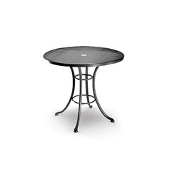 Homecrest 30 Inch Round Cafe Table with Aluminum Base  - 2G306