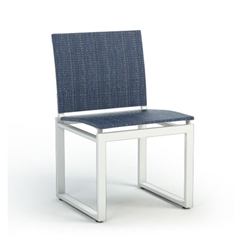 Homecrest Quick Ship Allure Armless Cafe Chair - Q12350