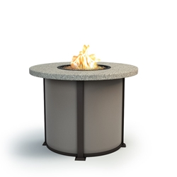 "Homecrest Shadow Rock 42"" Balcony Fire Table - 4642BSH"