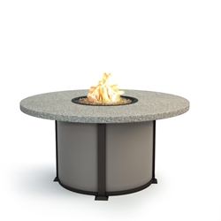 "Homecrest Shadow Rock 48"" Dining Fire Table - 4648DSH"