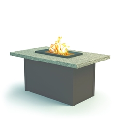 "Homecrest Shadow Rock 32"" x 52"" Chat Fire Pit - 893252XCSH"