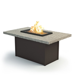 "Homecrest Shadow Rock 36"" x 60"" Chat Fire Pit - 893660XCSH"