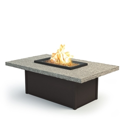 "Homecrest Shadow Rock 36"" x 60"" Coffee Fire Pit - 893660XLSH"