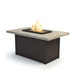 "Homecrest Slate 32"" x 52"" Chat Fire Pit - 893252XCSL"