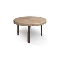 Homecrest Slate 24 inch Round Side Table - 3724RSL