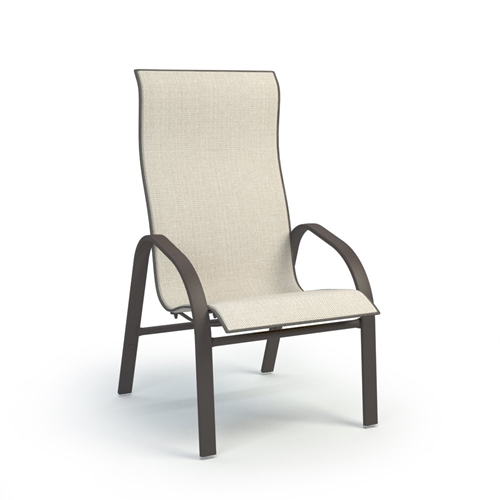Homecrest Stella Sling High Back Dining Chair - 7A379