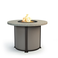 "Homecrest Stonegate 54"" Balcony Fire Table - 4654BSG"