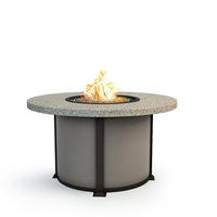 "Homecrest Stonegate 54"" Dining Fire Table - 4654DSG"