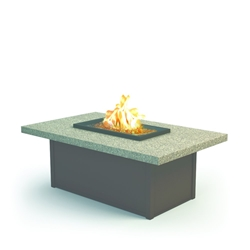 "Homecrest Stonegate 32"" x 52"" Coffee Fire Pit - 893252XLSG"