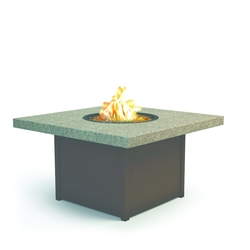 "Homecrest Stonegate 42"" Square Chat Fire Pit - 8942SCSG"