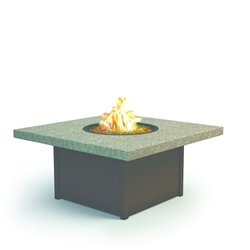 "Homecrest Stonegate 42"" Square Coffee Fire Pit - 8942SLSG"