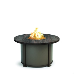 "Homecrest Timber 42"" Round Chat Fire Pit - 4642CTM"