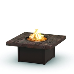 "Homecrest  Timber 42"" Square Coffee Fire Pit - 8942SLTM"