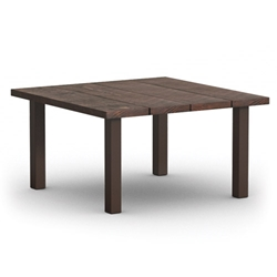 Homecrest Timber 48 Inch Square Dining Table w/ Post Base  - 2548SD