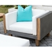 Catalina Wicker Sectional with Teak Accents - LF-CATALINA-SET6