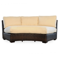 Lloyd Flanders Contempo Curved Sectional Sofa - 38056