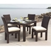 Lloyd Flanders Contempo 5 Piece Patio Dining Set - LF-CONTEMPO-SET1