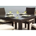 Contempo Woven Vinyl Wicker 5 Piece Patio Dining Set - LF-CONTEMPO-SET1