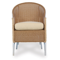 Lloyd Flanders Lloyd Flanders Barrel Dining Chair - 8004
