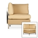 Elements Large Wicker Sectional and Lounge Chairs Set - LF-ELEMENTS-SET5