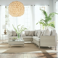 Lloyd Flanders Elements Modern Wicker L-Sectional - LF-ELEMENTS-SET8