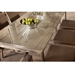 "Elements 42"" Square Wicker Dining Table - 203042"