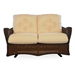 Grand Traverse Woven Vinyl Loveseat Glider Set - LF-GRANDTRAVERSE-SET1