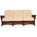 Grand Traverse Wicker Sofa Patio Set with Round Coffee Table - GRANDTRAVERSE-SET8