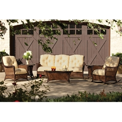 Lloyd Flanders Grand Traverse 6 Piece Patio Sofa Set - LF-GRANDTRAVERSE-SET9