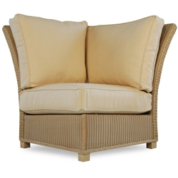 Lloyd Flanders Hamptons Corner Sectional Chair - 15054