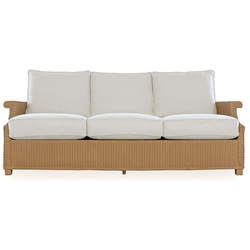 Lloyd Flanders Hamptons Deep Wicker Sofa - 15055