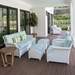 Lloyd Flanders Hamptons Wicker Sofa and Lounge Chair Set - LF-HAMPTONS-SET18